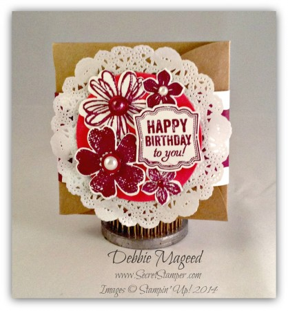 Gift Card Enclosure Pack, Flower Shop, Petite Petals, Label Love