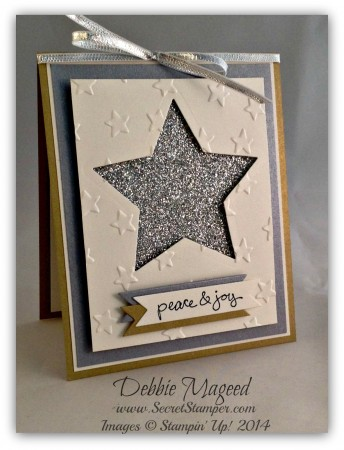 Good Greetings, Star Framelit, Holiday Card, Christmas